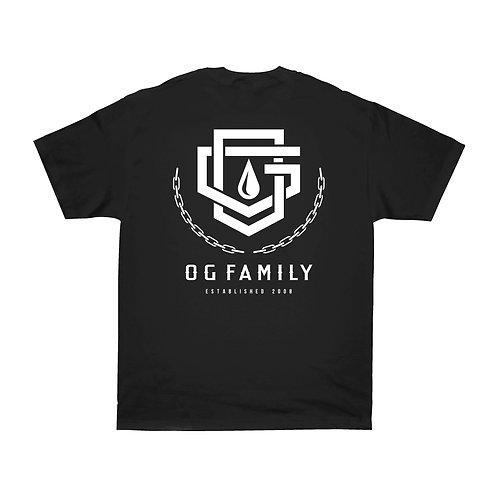 OG FAMILY: PROMO - BLACK T-SHIRT