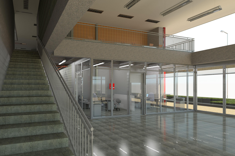 Interior acceso primer nivel