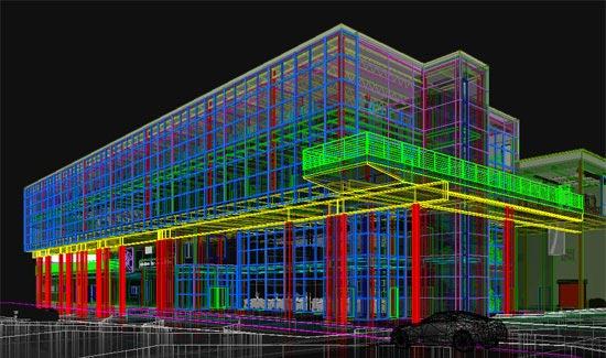 BIM building structure