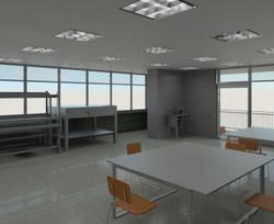 Interior salon textiles segundo nivel