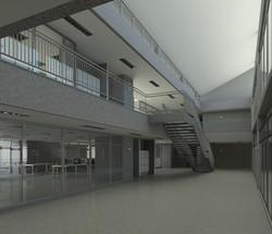 Interior hall segundo nivel