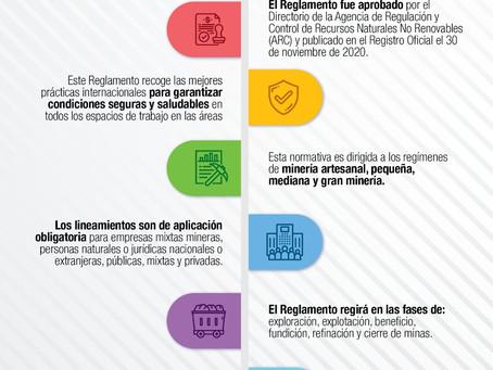 Sector Minero cuenta con nuevo Reglamento para Seguridad y Salud en el Trabajo