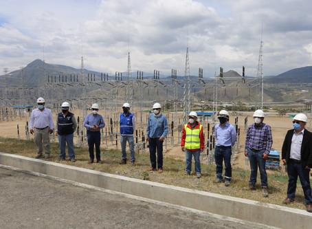 Nuevo sistema de transmisión Tabacundo (Pimampiro) – Imbabura reporta un avance del 85.35%