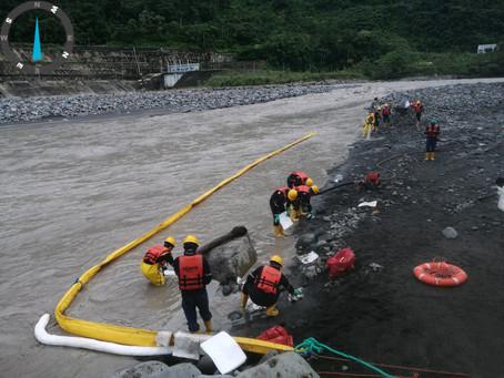 Más de $ 3,8 millones han sido destinados para remediación ambiental luego de derrame del 7 de abril