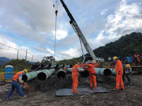 OCP Ecuador implementa medidas ante rápido avance de erosión regresiva en el río Quijos