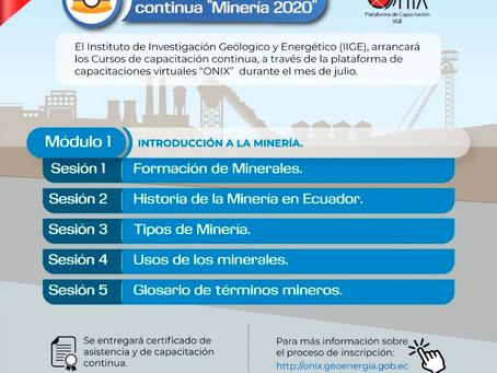 IIGE oferta cursos de capacitación continua virtual para el sector minero