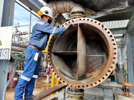Concluye mantenimiento programado en la Planta de Gas Shushufindi