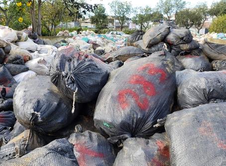 Finalizó el traslado del material mineralizado decomisado en La Merced de Buenos Aires