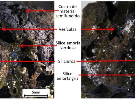IIGE estudió fragmentos de presunto meteorito encontrado en El Empalme