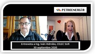 PETROENERGIA ENT_ING_IVÁN_HIDROBO,_CELE