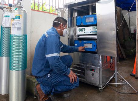 Listos los resultados de monitoreo de la calidad del aire en Esmeraldas