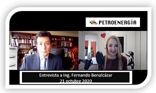 ENT ING FERNANDO BENALCÁZAR 21 OCT 2020