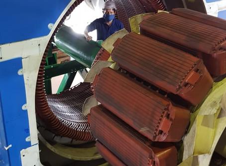 Concluyó etapa de pruebas de mantenimiento mayor en la central térmica Jivino