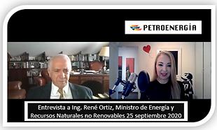 PETROENERGIA ENT_ING_RENE_ORTIZ_MINISTRO