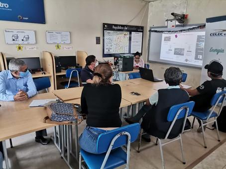 CELEC inició socialización del nuevo sistema de interconexión eléctrica Ecuador – Perú a 500 mil V
