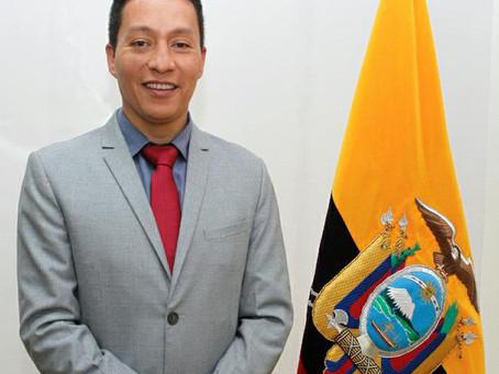 CÉSAR VÁSQUEZ ES EL NUEVO VICEMINISTRO DE MINAS ENCARGADO