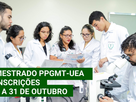 Estão abertas as inscrições para o mestrado em Medicina Tropical
