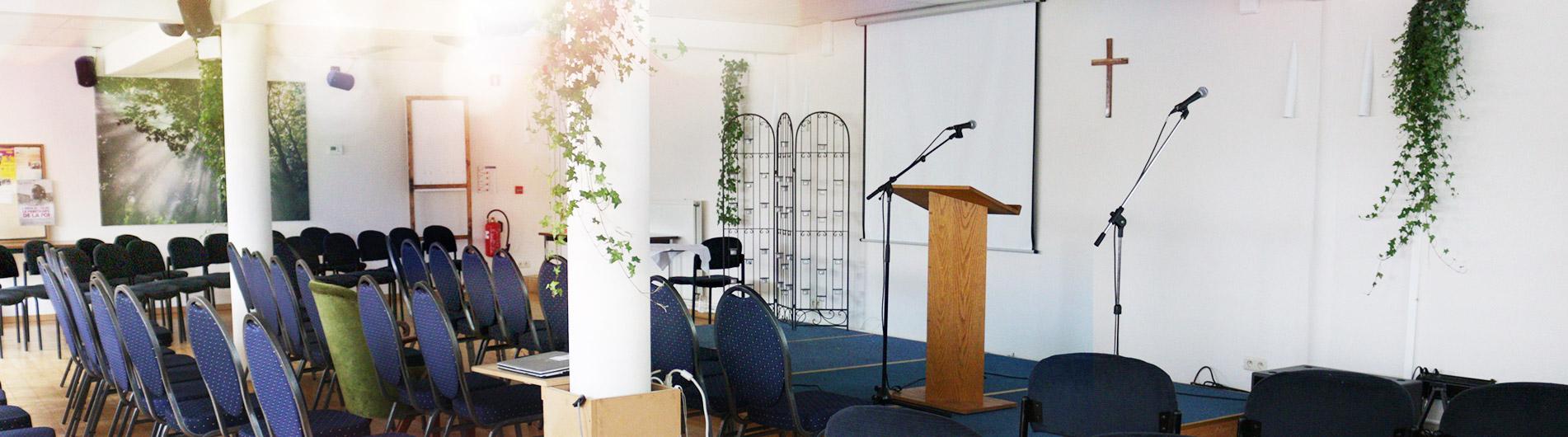 La salle de culte