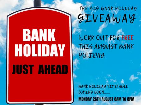 Bank Holiday Giveaway