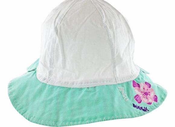 YG_164_SH White-Teal Summer Hat