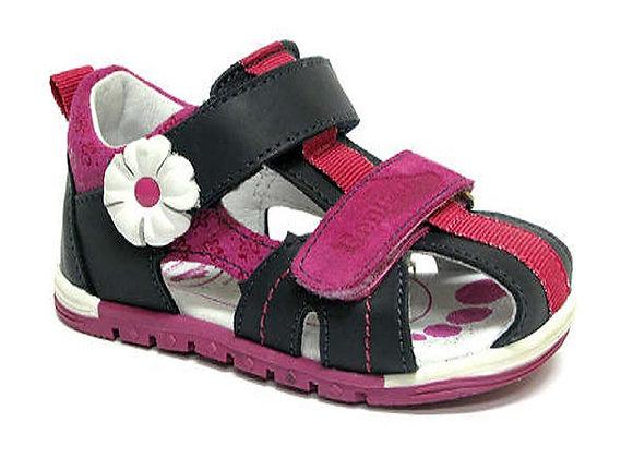 RBG11_1441_0112_CS Navy Leather Sandals