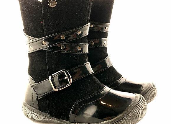 KG_12_WB Black Boots
