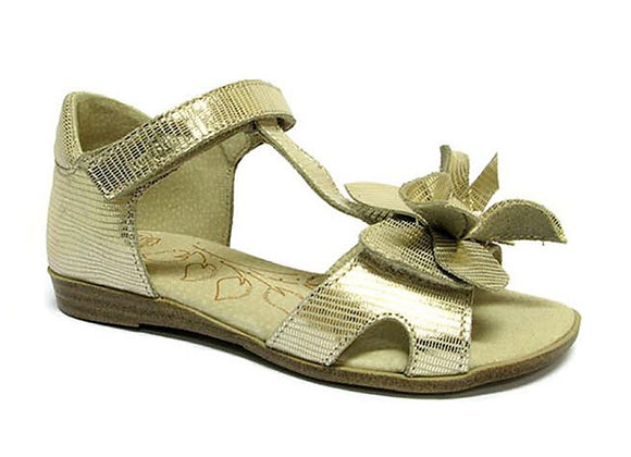 RBG31_4254_OS Gold Leather Sandals