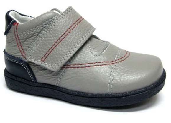 RBB13_1527_0948_D Gray Leather Shoes
