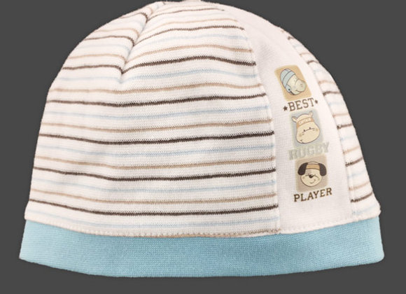 JB16135TB_SFH Striped Spring/Fall Hat