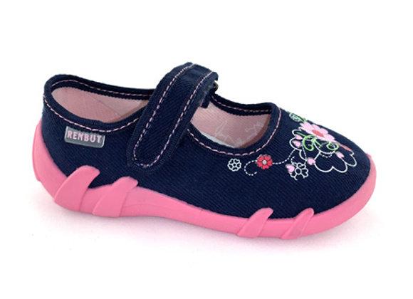 RBG13_139_N Navy Canvas Shoes