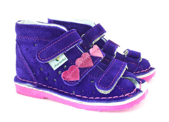 DGS_TA125V Purple Suede Sandals
