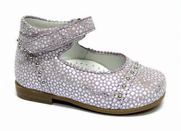 RBG13_1494_0081 L.Purple/Silver Leather Mary Jane