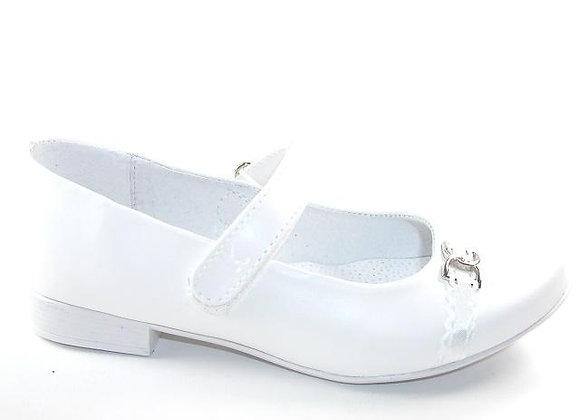KG6129W_D White Mary Jane