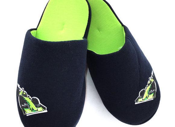 YBS_N Navy Slippers