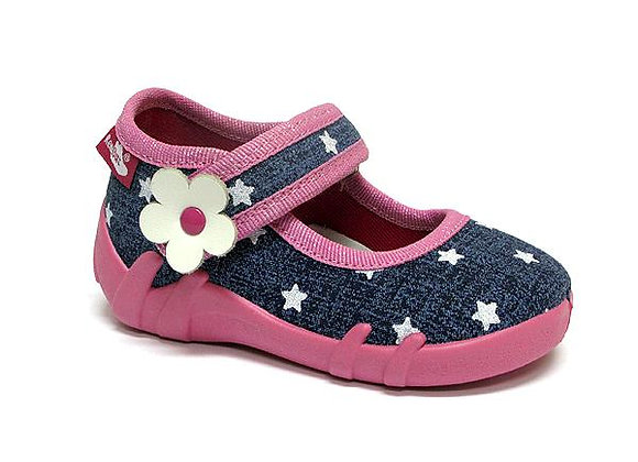 RBG13_139_0723 Starry Jeans Canvas Shoes