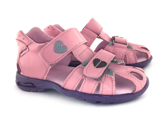 MG280P_CS Pink Leather Sandals