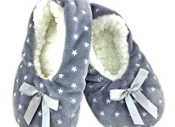 YGS_G Gray Star Slippers