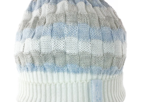 JB_16086_SH Striped Spring Hat