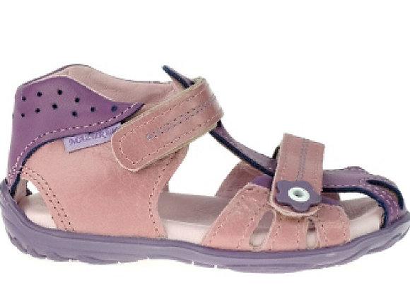 MG280_281P_CS Mauve/Purple Leather Sandals