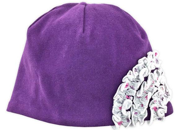 MG_18F_FWH Purple Spring/Fall Hat