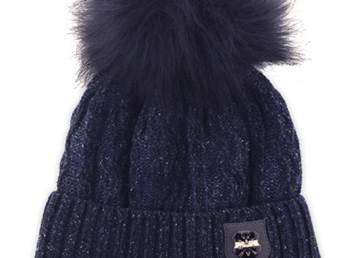 JZB227_S_WHB Navy Winter Hat