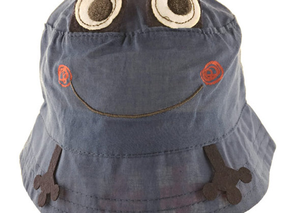 YB_114N_SH Navy Summer Bucket Hat