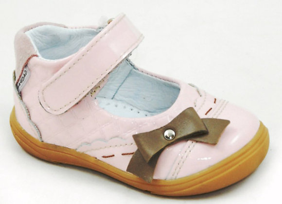 GG312_32_D Powder Pink Leather Mary Jane