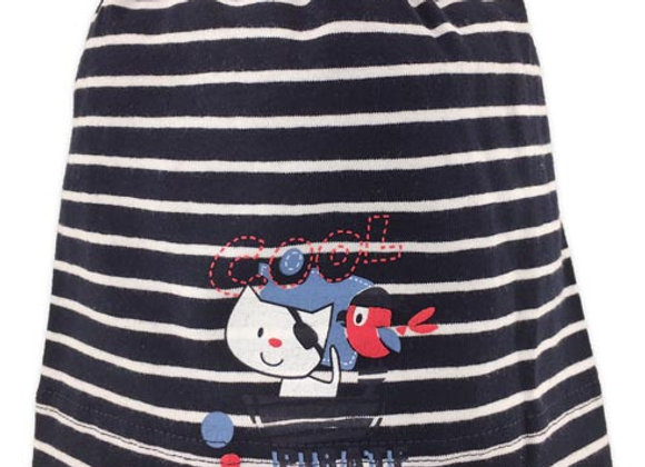MB_ALA_SFH Black Striped Spring/Fall Hat