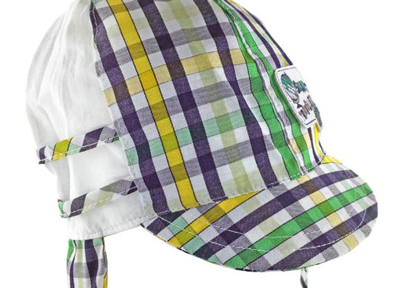MB_MICY_SH Multi-Color Checkered Summer Hat
