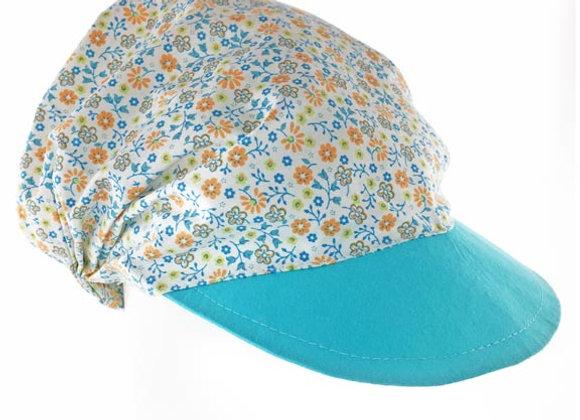 MG_KLA_SH Teal Floral Summer Bandana