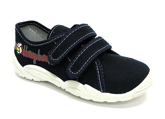 RBB33_374_0433 Dark Navy Canvas Sneakers