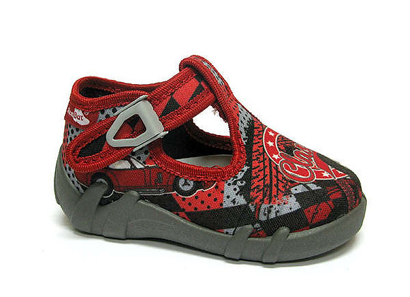 RBB13_102_P1024 Red Classic Canvas Shoes