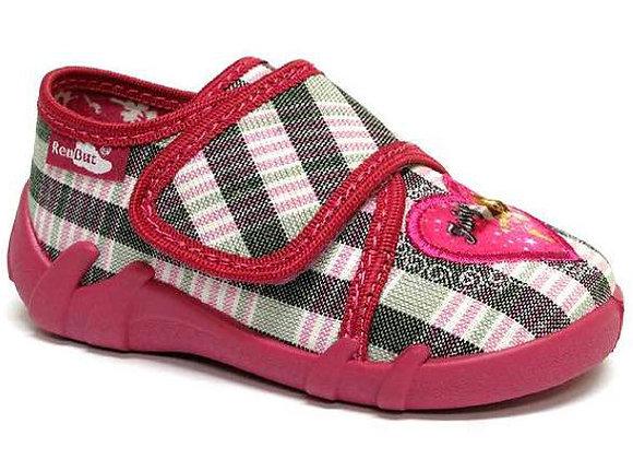 RBG13_110_0543 Gray Checkered Canvas Shoes