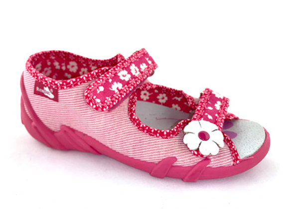 RBG33_378LP_OT Pink Canvas Sandals